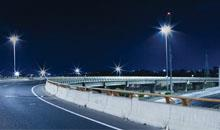 The progress of installation of LED street lights in Halifax Canada