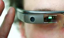 The next generation Google Glasses with LED light source