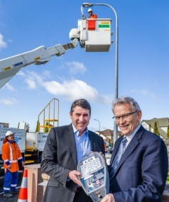 Auckland will update the LED street lights