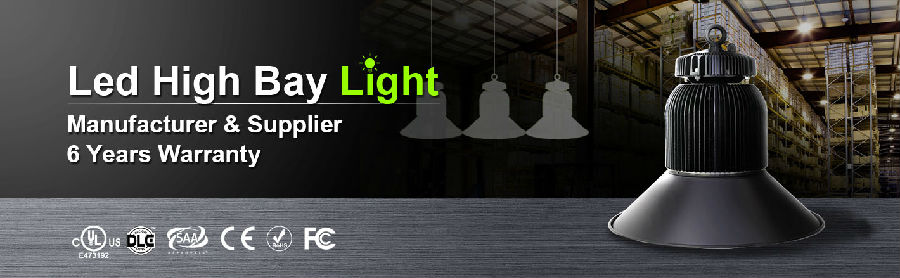 LED high bay lighting fixtures solutions